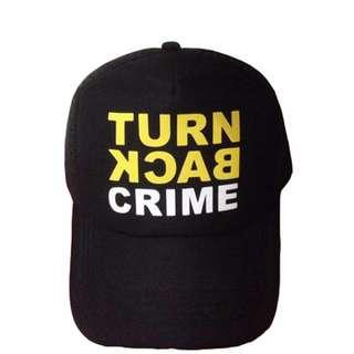 Trucker Hat Turn Back Crime