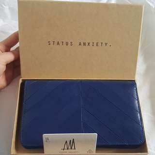 STATUS ANXIETY MILDRED CLUTCH - Royal Blue