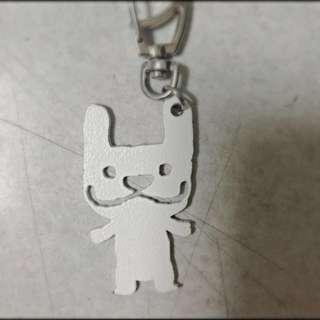 (全新)Lazy Maru鐵牌精品吊飾「專櫃品」