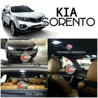 KIA Sorento Interior LED light replacements
