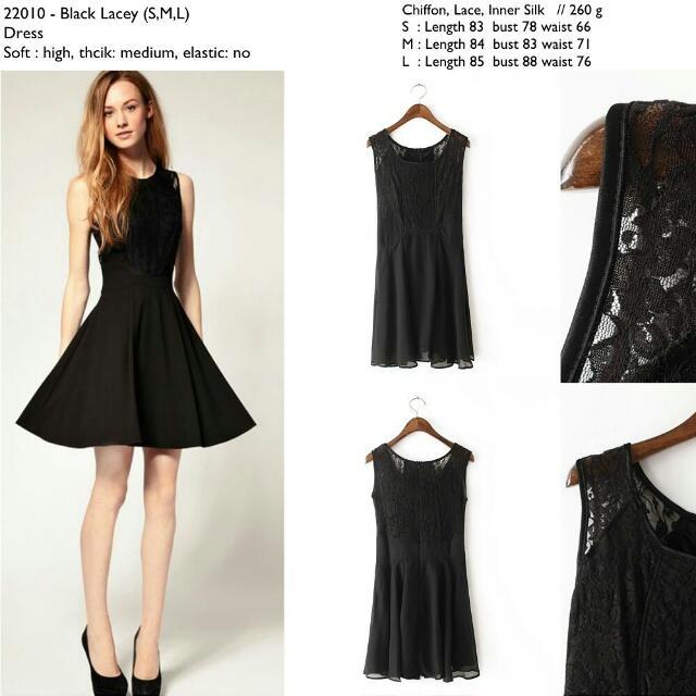 22010 Lace Flare Dress