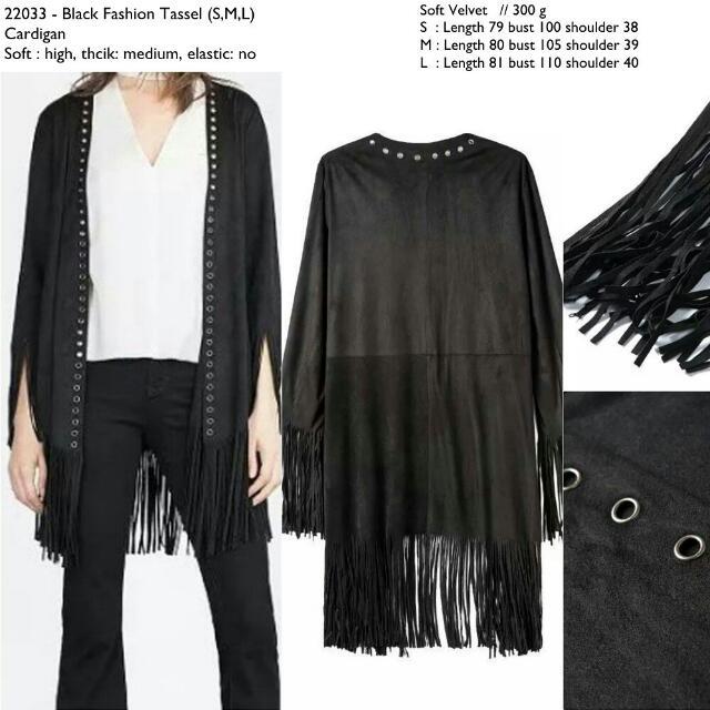 22033 Fringe Kimono