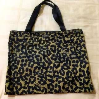 Bottega Veneta Canvas Laptop Bag