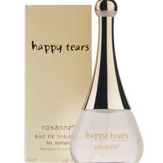 roxanne全新香水 happy tears