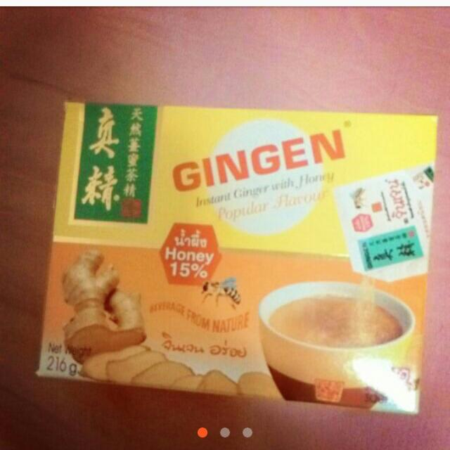 降價🎉泰國天然薑蜜茶精