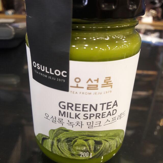 超火熱韓國抹茶醬$390