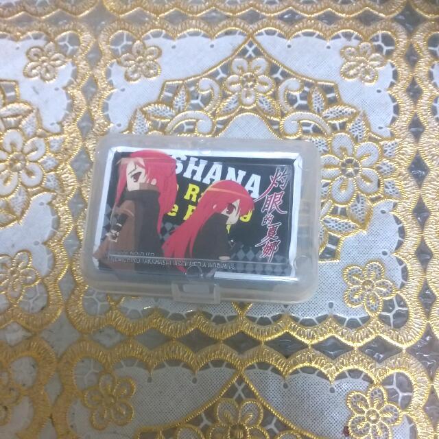 灼眼的夏娜 迷你撲克牌