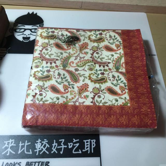 蝶古巴特 餐巾紙