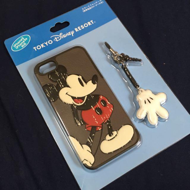 正版 迪士尼 米奇 iphone 5/5s 手機殼