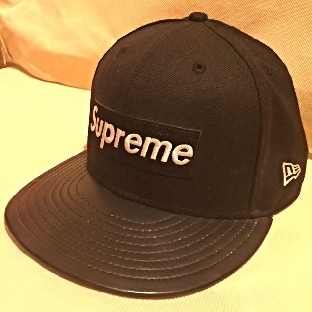 二手 七成新 Supreme 全封 棒球帽
