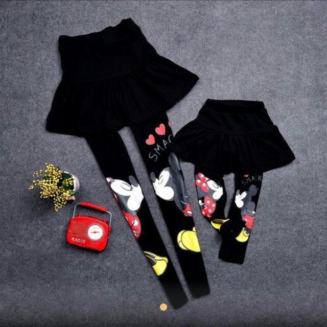 韓版 全新Kiss米妮褲裙 親子裝 兩件 @ NT$1200