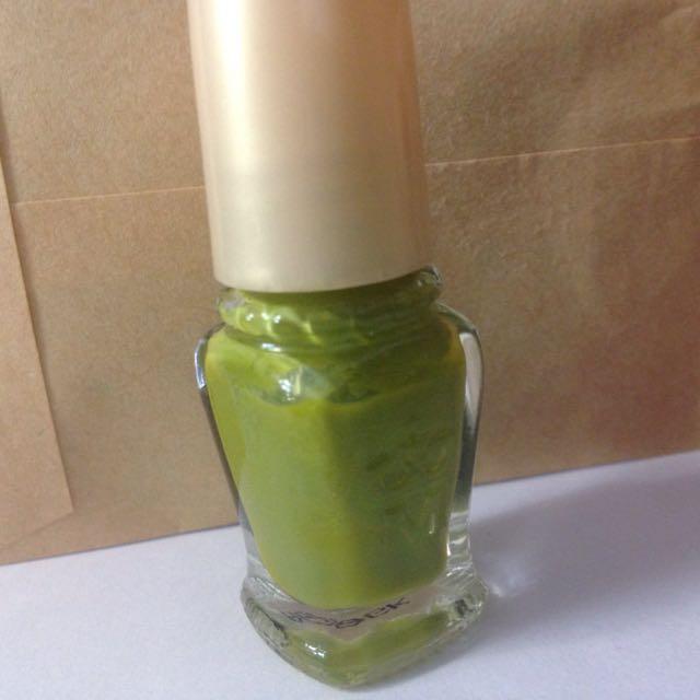 資生堂 Shiseido 指甲油 GR714 綠