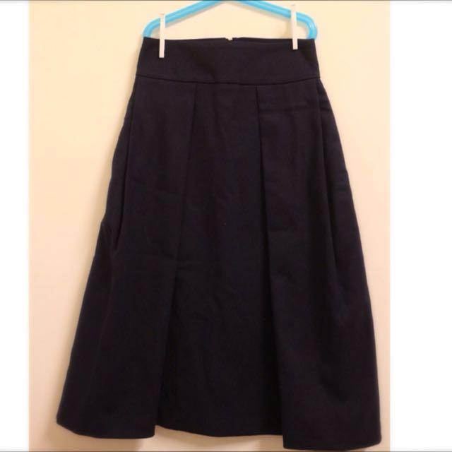 全新✨丈藍A字超顯瘦高腰高質感裙✨
