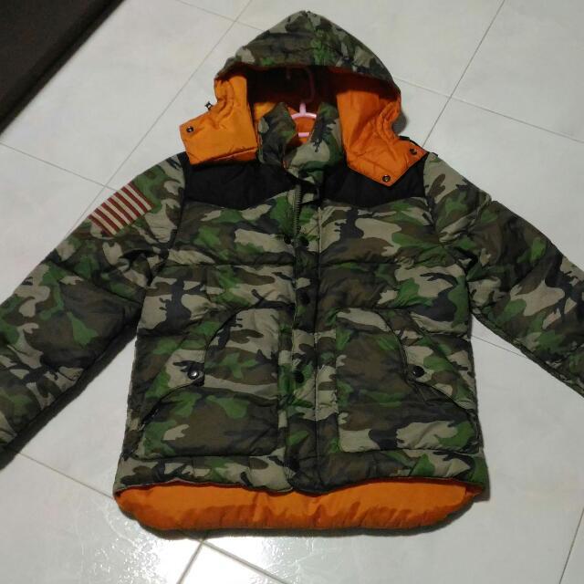 Camo Jacket Lauren Ripstop Authentic Denimamp; Down Ralph Supply rhdBQsxtC