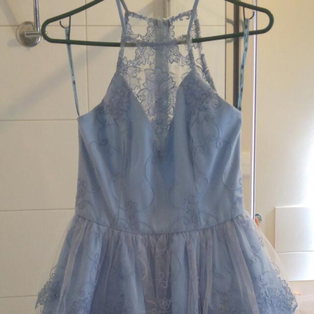 Blue Lace Asos Dress