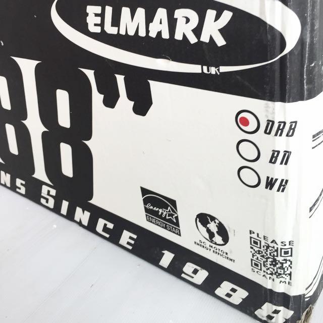 """BNIB 88"""" Elmark 9 Blade Ceiling Fan"""