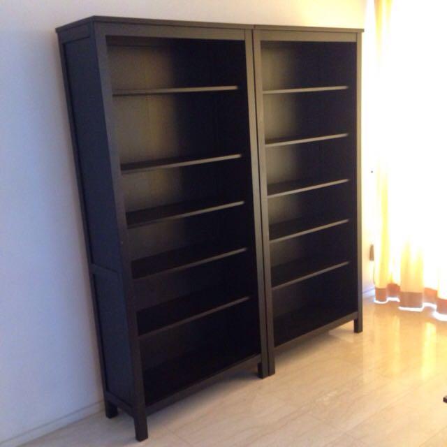 Bookshelves (set of two), IKEA Hemnes, Expat Moving Sale.