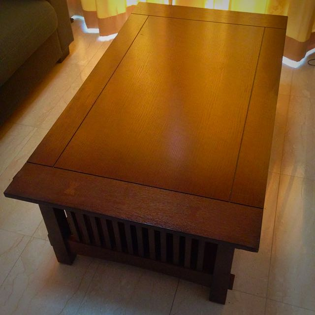 Coffee Table, Picket & Rail, Expat Moving Sale