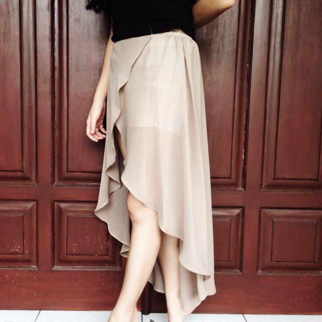 EDITORSMARKET asymmetrical Skirt