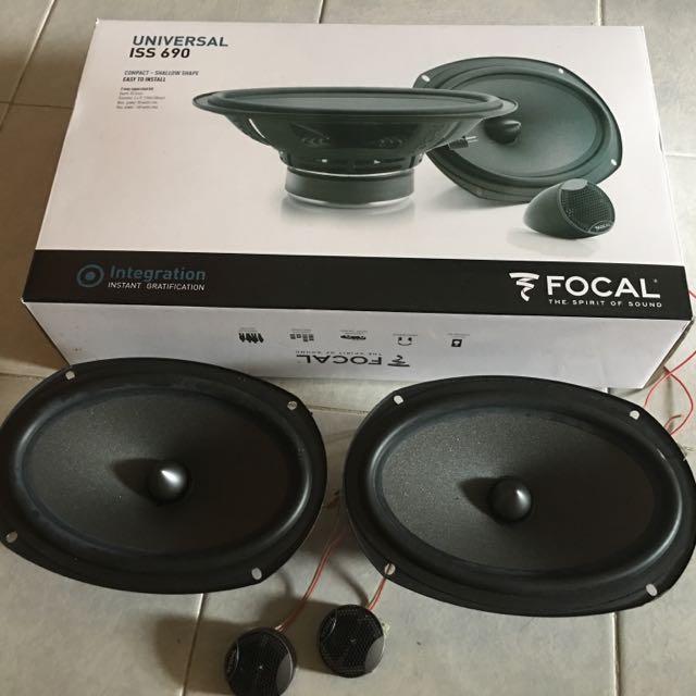 Focal 6x9 Speaker