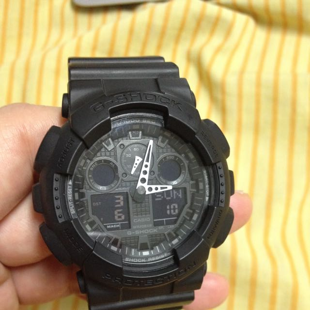 G-shock GA-100 Black (reserved)