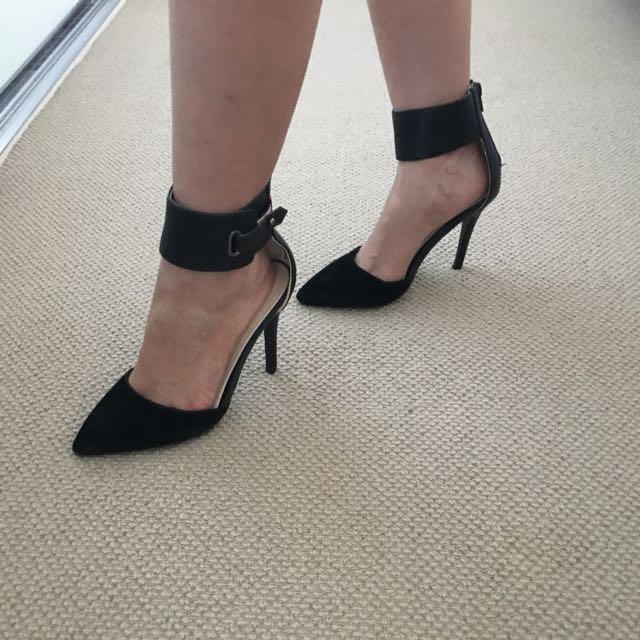 High Heel And High Heel Boot From Boohoo