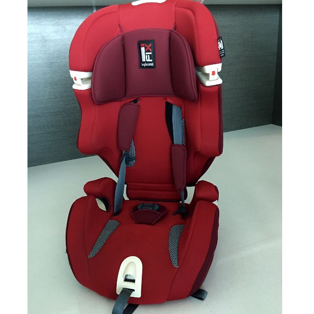 Inglesina Car Seat Isofix Group 1 2 3 9 36 Kg Red Cost 796