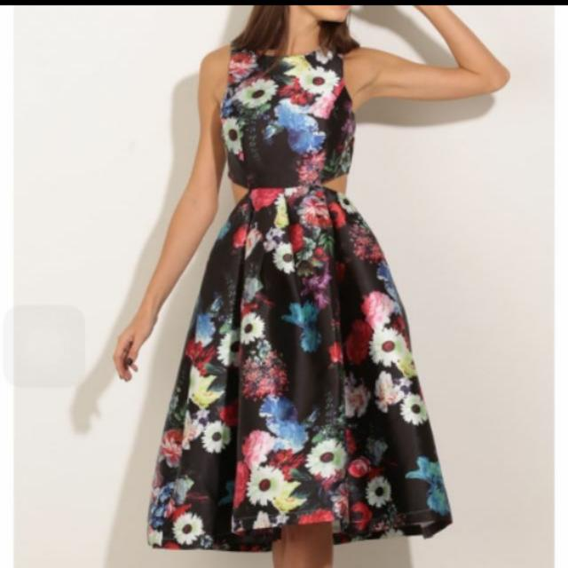Lucy in The Sky Floral Printed Dress