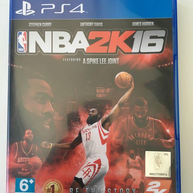 PS4 2K16 鬍子版