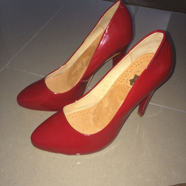 Rmk Red Heels Classic Size 39