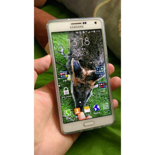 Samsung A7 2015版 白色16g 雙卡