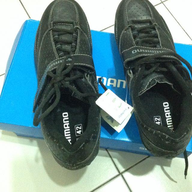 d4e4a28e09c Shimano Spd SL Shoe No Pedal No Clips