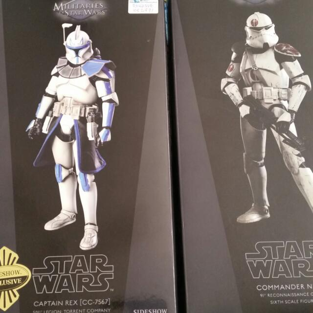 Sideshow Star Wars Captain Rex Phase II
