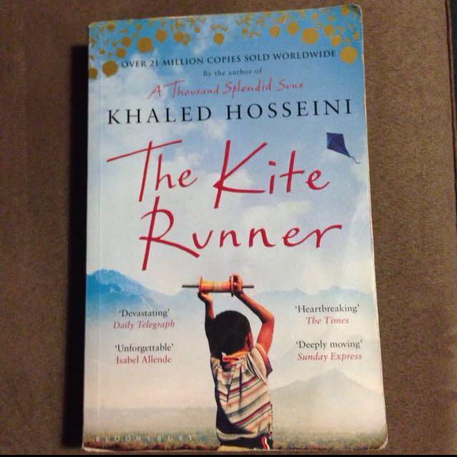 The Kite Runner & Stolen Reading Books