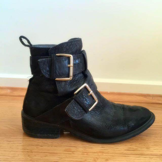 Tony Bianco Leather Boots