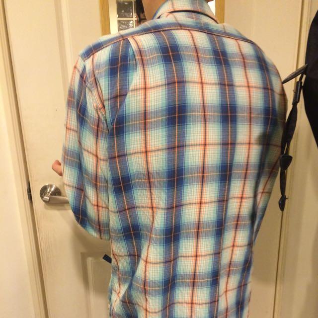 Uniqlo 偏復古 襯衫