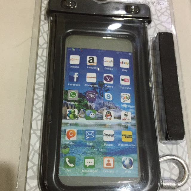 new product 00b94 d795d Waterproof Pouch iPhone 6/6s/6s Plus