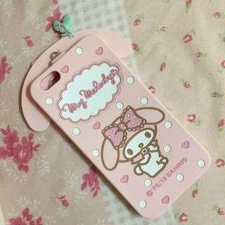I Phone6 Plus 粉紅美樂地軟殼(可揹)