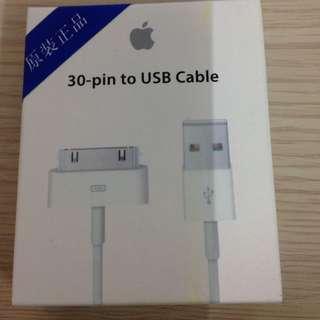 I Phone 4 4s I Pad1原廠傳輸線