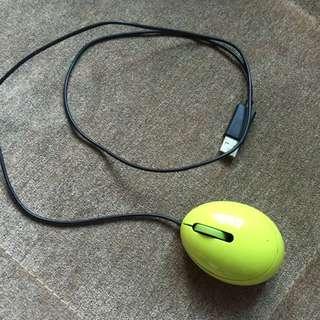(二手)韓國購入 EGG 蛋形筆電專用 滑鼠
