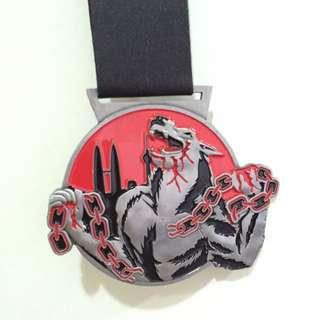 Dedicated Blood Runner Finisher Medal