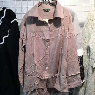 LYF棉質襯(罩)衫