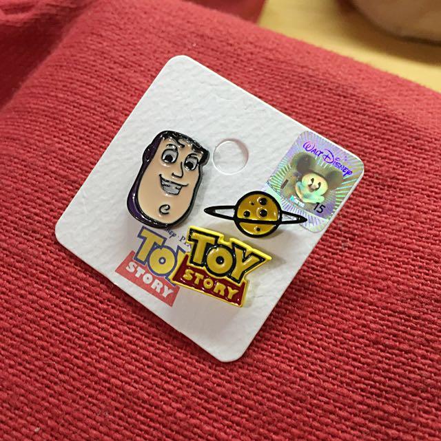 現貨/玩具總動員1卡3入鋼針