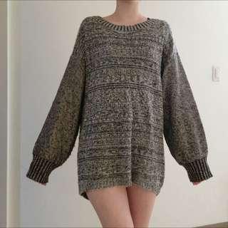 日本JEANASIS長版毛衣,含運