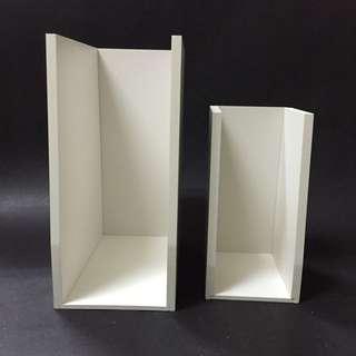白色木製公文夾