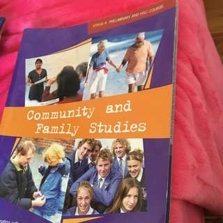 Community And Family Studies Textbook