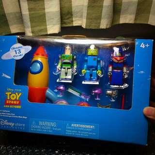 玩具總動員 盒裝積木組絕版少有