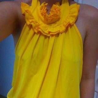 黃色性感大露背小可愛《二手》