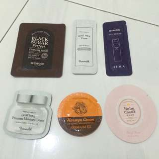 K-Skincare Sample