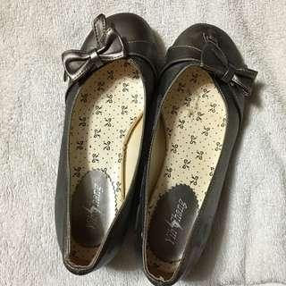 23號金色淑女鞋